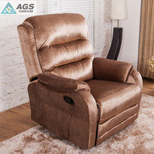 New Product Leather Luxury Single Seat Recliner Sofa Bed AGS-7052 With Bedroom Furniture Sets