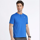 high elasticity fitness clothing blank t-shirt with soft fabric