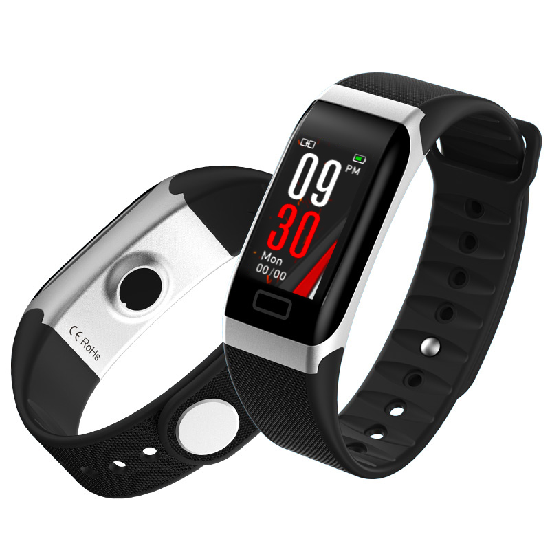0.96 inch Color Display Pedometer Heart Rate Smart Fitness Band