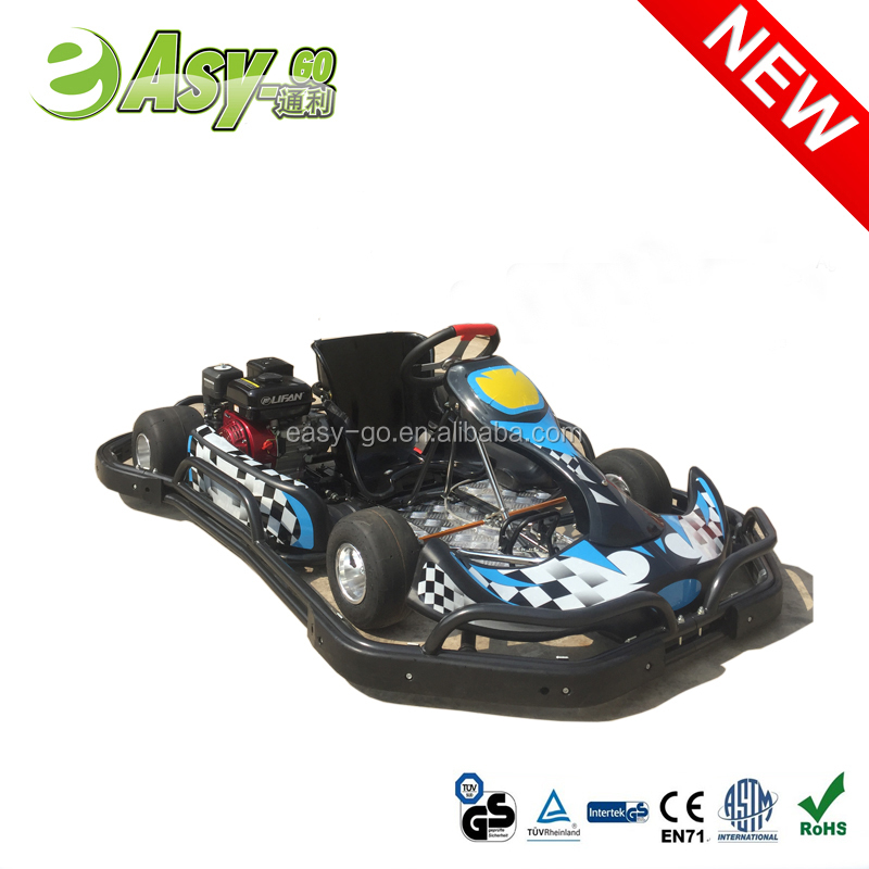 electric motor go kart with plastic safety bumper pass CE certificate