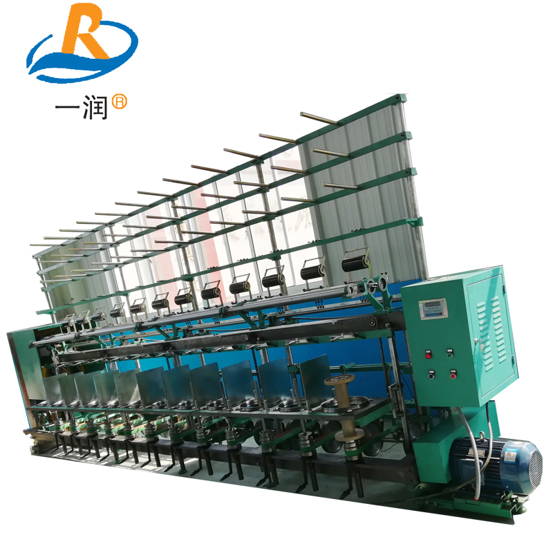 Doubling hand pp twine string twisting machine