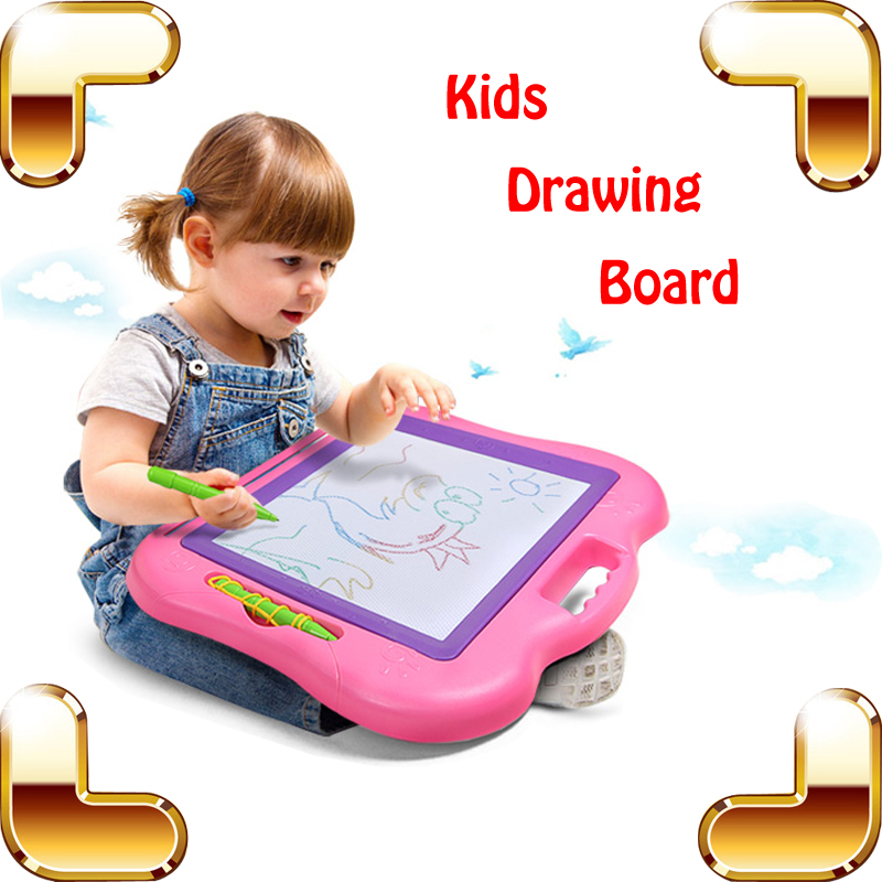 Careful 1pcs Children Writing Doodle Stencil Painting Magnetic Drawing Board Set For Kids Learning & Education Toys Hobbies Discounts Price Notebooks & Writing Pads