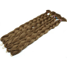 High Quality Synthetic Hair Extension Single color Afro Ultra Jumbo Crochet Twist Braids