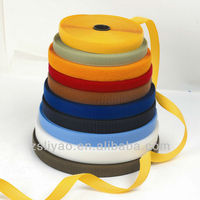 nylon hook and loop tapes for clothes/colored hook and loop tape