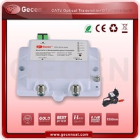 GECEN CATV/SATV micro optical transmitter 47-2150MHz 1550NM OTH-2015-3mW