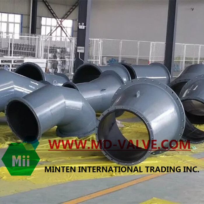 Mines & Power plant Rubber Lined Pipes