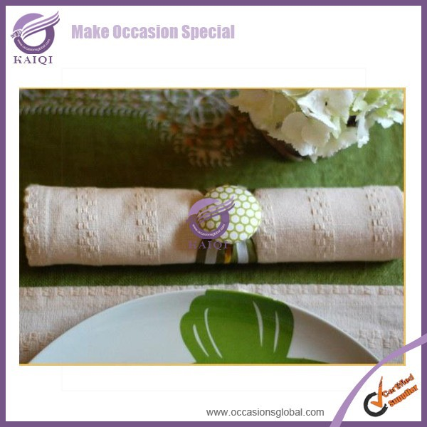 k4029 fancy wedding ivory embroidery cotton table cloth napkin