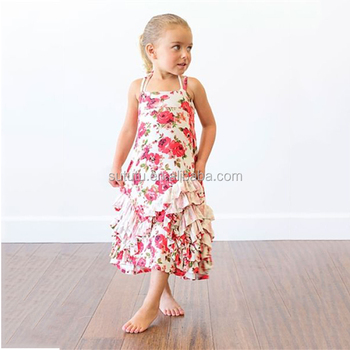 6e69b311d972 China Yiwu Wholesale Girls Cotton Summer Dresses Fashion Dresses For 2-8  Years Girl Boutique