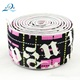 3.8cm jacquard elastic tape nylon webbing for garment