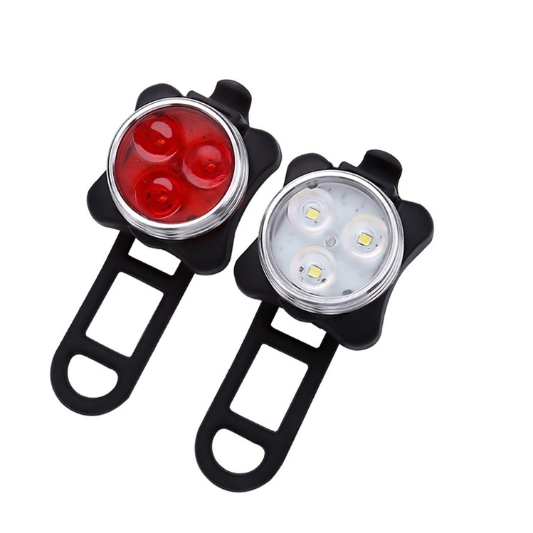 160lumen USB rechargeable 3w Led raypal bike tail light bicycle, N/a