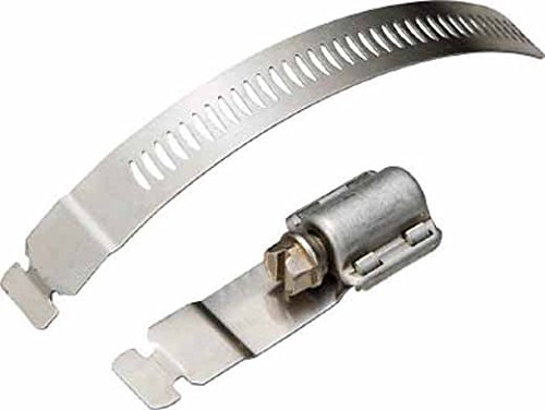 Breeze Make-A-Clamp Stainless Steel Hose Clamp System, 1 Kit contains: 10 adjustable fasteners (Pack of 1)