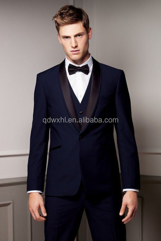 Anti-wrinkle Slim Fit Tuxedo Men Suit Wedding Slim Fit Tuxedo Men ...