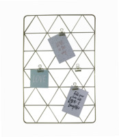 Custom hanging metal Iron Rack Clip Photograph wire wall Picture photo organizer grid panel for Home Decoration