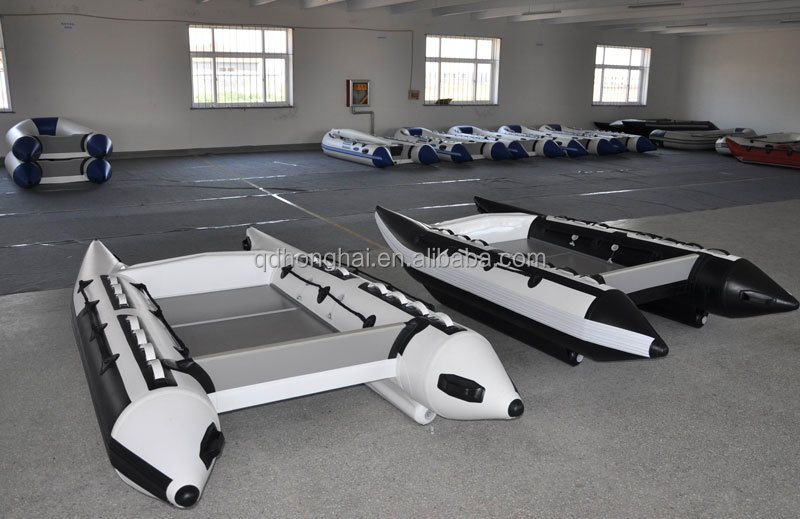 4.1m Catamaran Work Boat Inflatable outboard Speed Boat