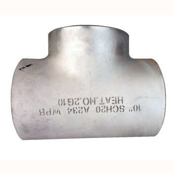astm a321 316/316L stainless steel smls sch40 equal tee with good quality