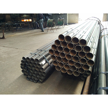 Factory direct sale mild mechanical properties erw galvanized steel pipes