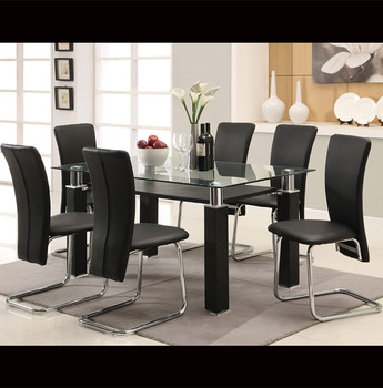 Gl 6 Seater Dining Table Set