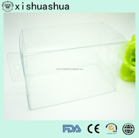 Wholesale Price Clear Pvc Plastic Box With Top And Bottom Caps
