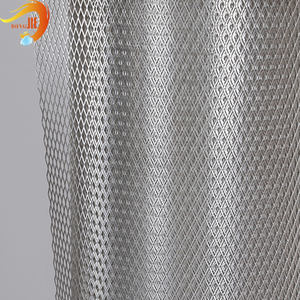 metal micro pore expanded mesh for filter Meet international standard