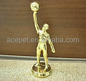 Basketball for trophy wholesale trophy trophy parts plastic trophy