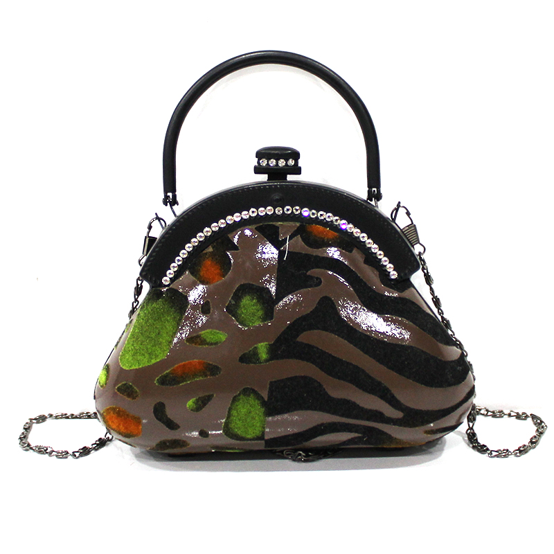 Latest trendy fashion style high quality fancy design inexpensive embroidered handbags with beads