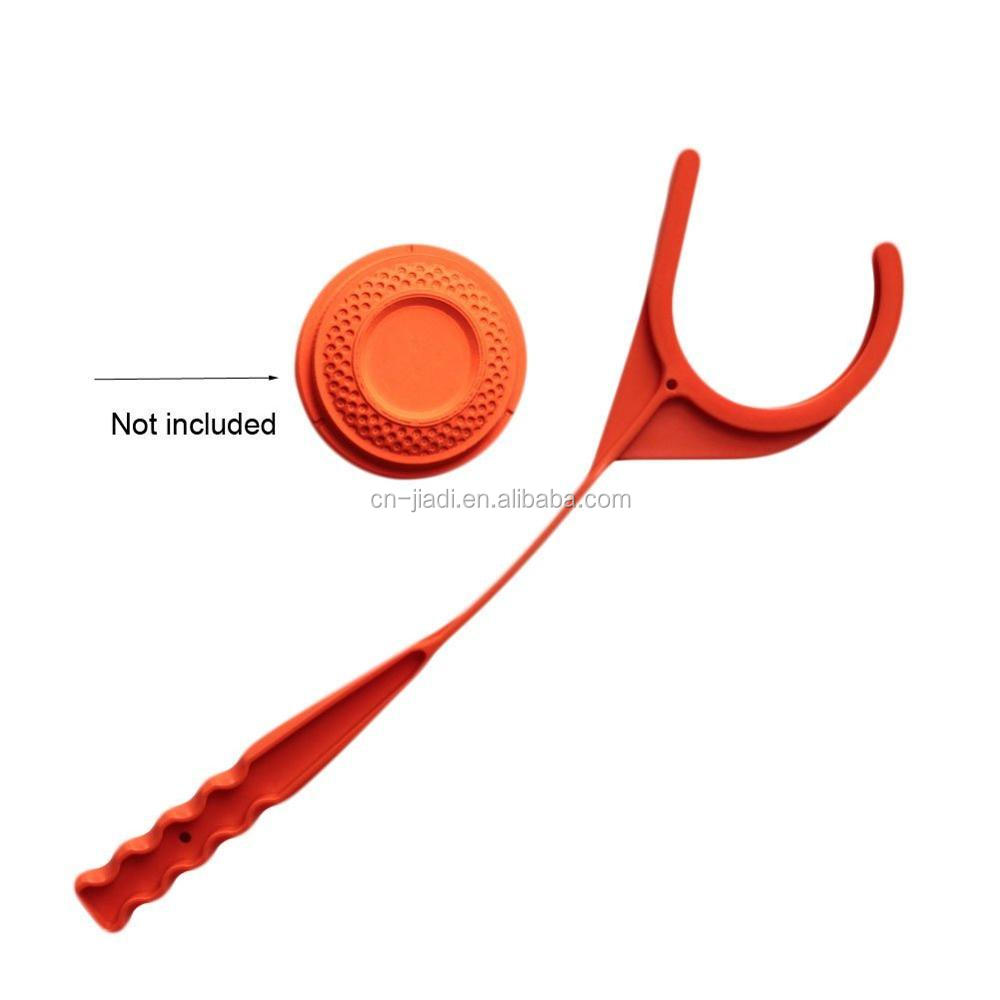 Manual Clay Target Thrower Hand Disc Skeet Trap with Shooting Accessories