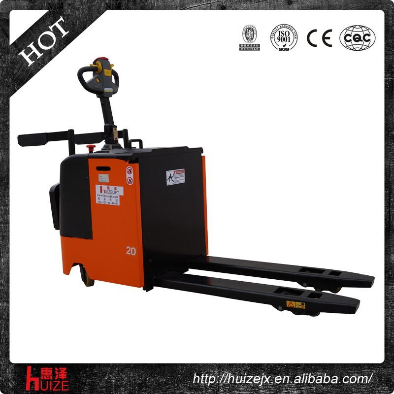 2t new Hydraulic battery powered motorised pallet jack