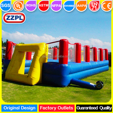 ZZPL PVC Material inflatable sports arena Inflatable football field,giant inflatable sports game
