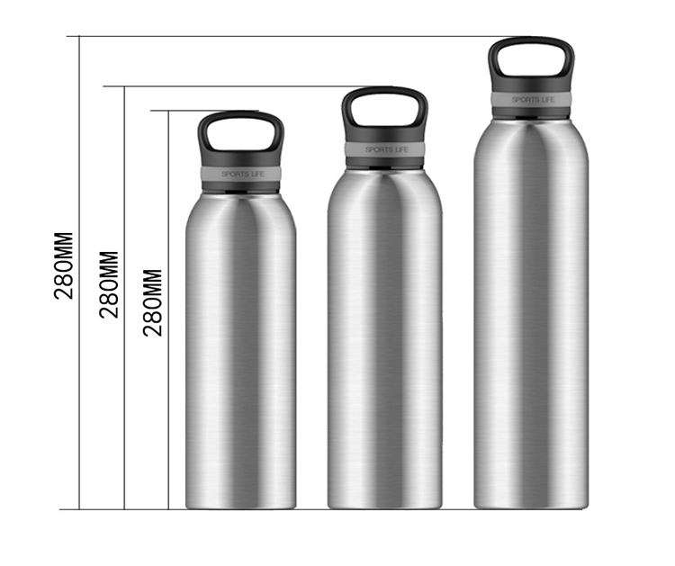 Easy To Use glass sports water bottle