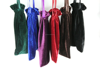 large size and capacity velvet flat bags