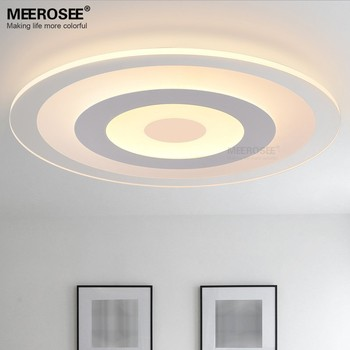 Simple Design Modern Ceiling Light Cover Round Fixtures Circular Led Lamp Md81739