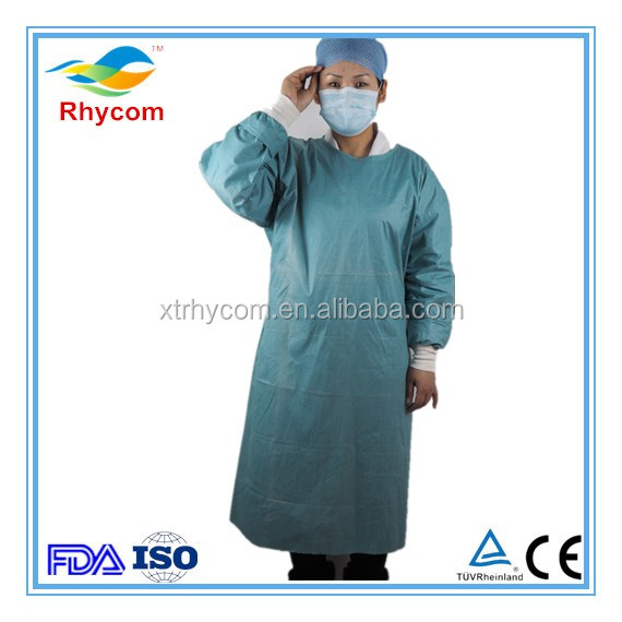 Medical staff uniforms light blue surgical gown