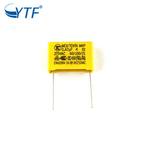 Metallized polypropylene film Capacitors MKP capacitors 275v x2 widely used in power supply