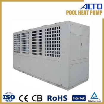 Swimming pool chiller heating system heat pump for middle - Swimming pool heat pump installation ...