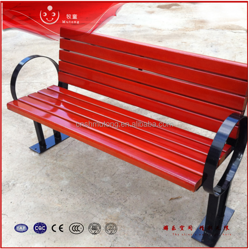 High Quality Outdoor Wooden Folding Bench Garden Bench
