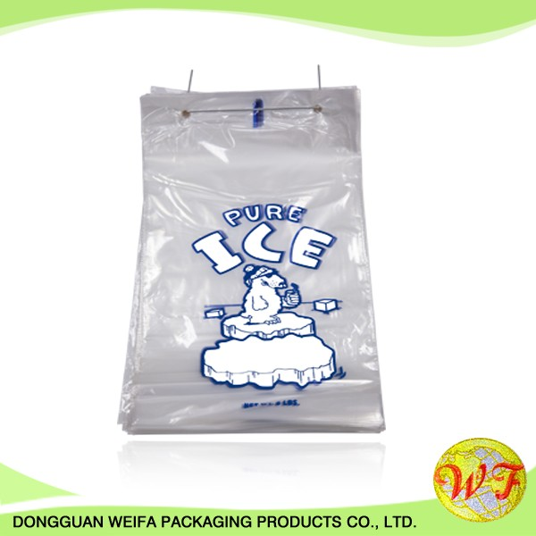 China Supplier Plastic Wicket Bags For Ice