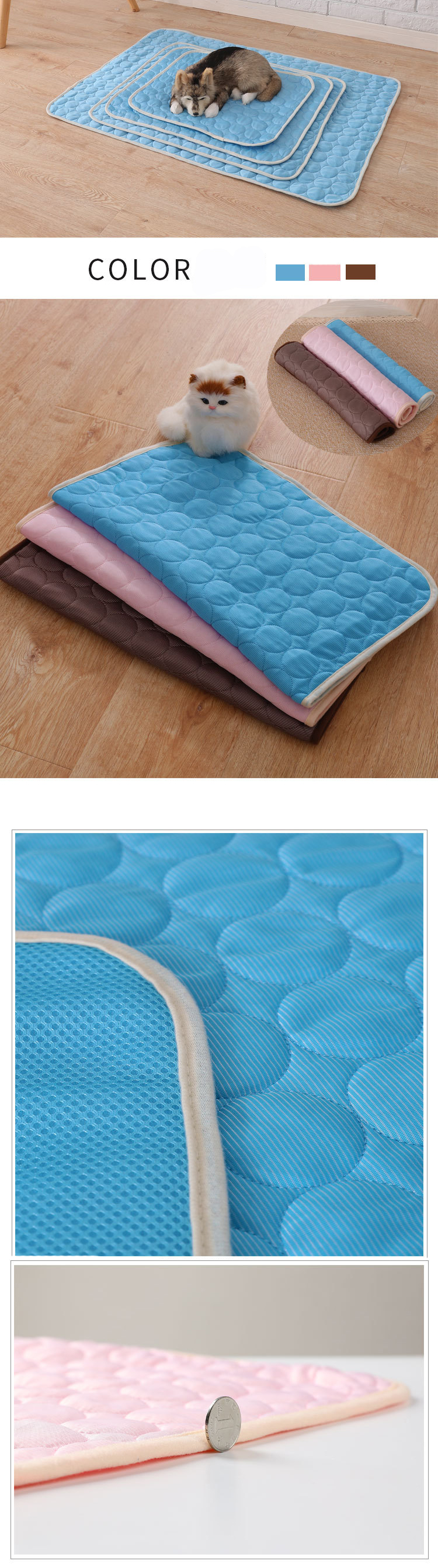 Hoge Kwaliteit Hond Cooling Pad Hond Cooling Mat