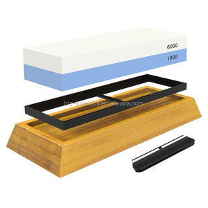 Premium double sides Knife sharpening stone 1000/6000