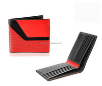 Stylish and slim men's real leather wallet