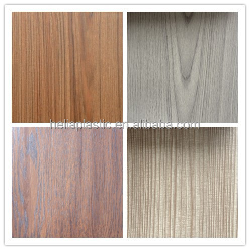 wood plastic pvc wood grain color pvc membrane foil wood grain lamination pvc mdf membrane foil