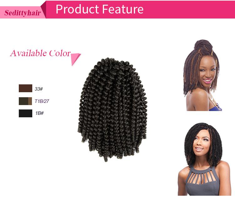 New Arrival 24 Afro Kinky Nubian Twist Crochet Braids With