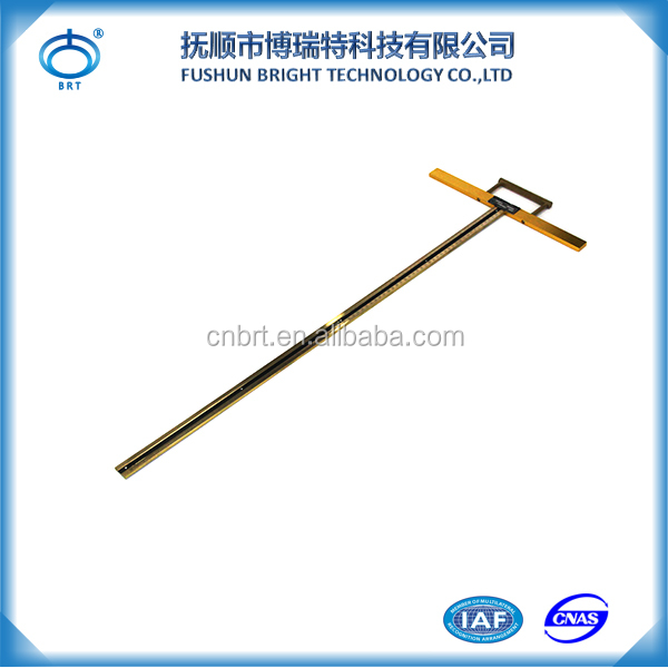 BCD-800 Wholesale Price Water Measure Tool Ruler 100% Brass Oil Depth Measuring Tape For Sale