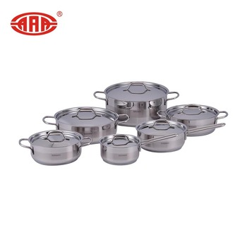 Upscale classic soup pot stainless steel cookware set