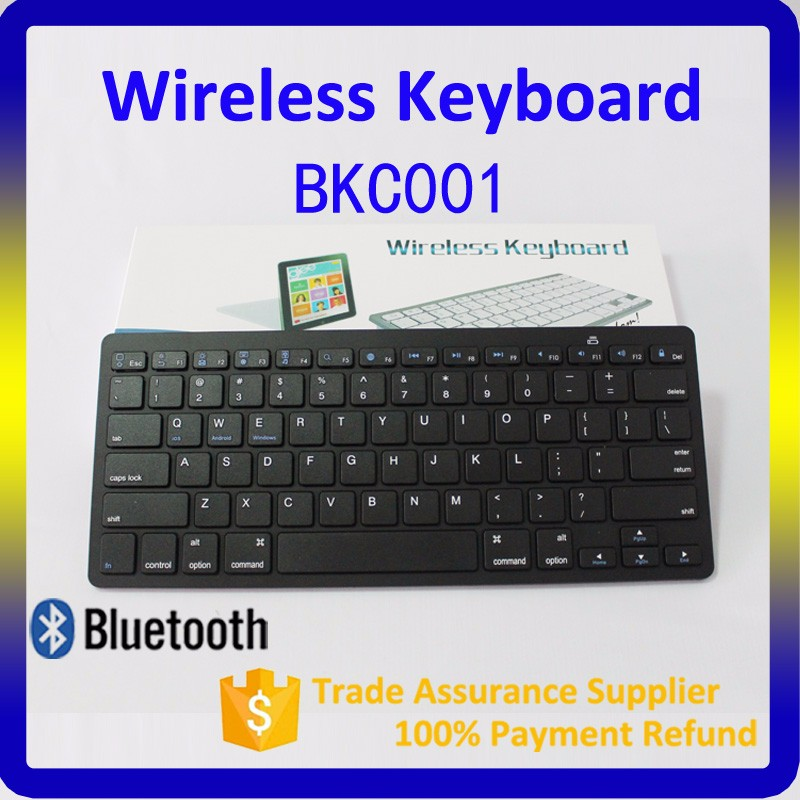 Gaming keyboard 2.4G Bluetooth 3.0 mini Wireless Keyboard for iPad Mac Computer PC Macbook