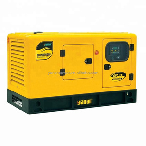Yanan 16kw small container genset price 20kva diesel generator with global warranty and service