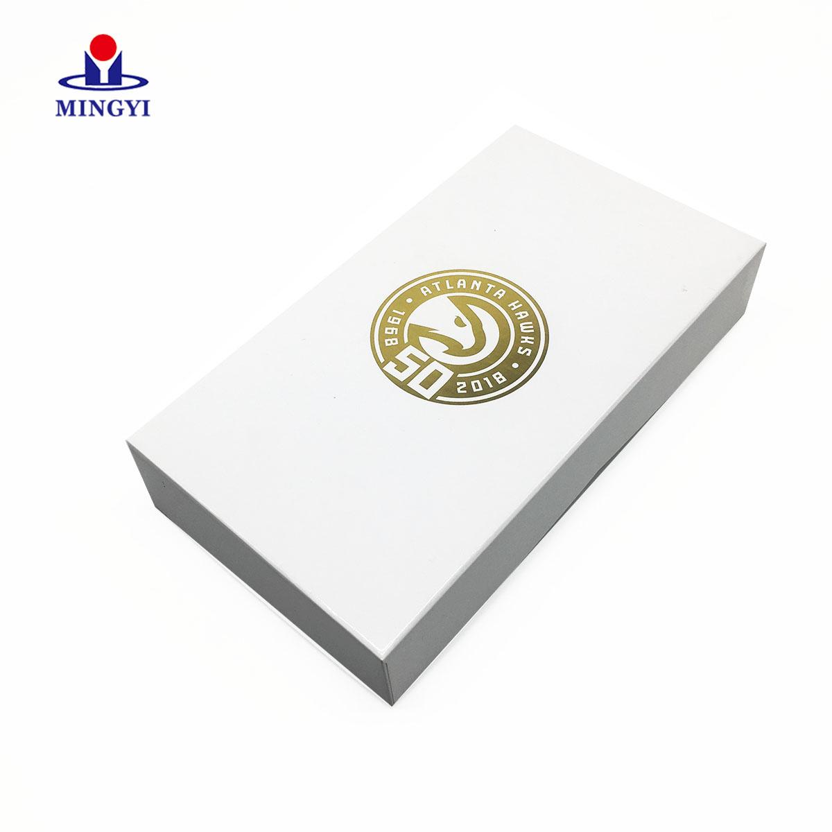 High quality custom ribbon closure gift box return retro nba jerseys Manufacturer Wholesale