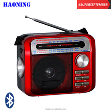 TERBAIK SALE HAONING MW SW AM FM USB SD <span class=keywords><strong>PORTABEL</strong></span> BLUETOOTH <span class=keywords><strong>RADIO</strong></span> DENGAN TORCH