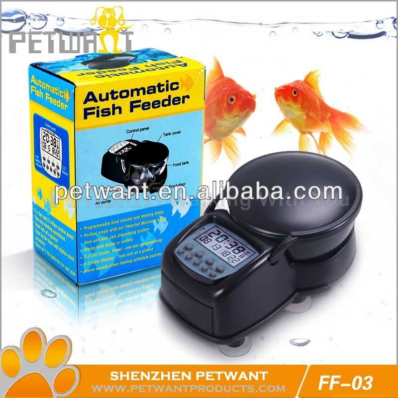 household tropical fish automatic fish food feeder FF-03