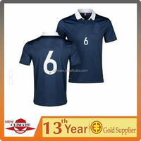 New design shirts World Cup 2014 Fench home soccer jersey,high quality clothes wholesale