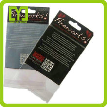 Yiwu clear self adhesive opp package bag with recycle mark